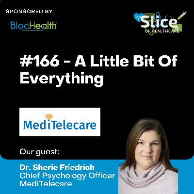 #166 - A Little Bit of Everything, featuring Dr. Sherie Friedrich, Chief Psychology Officer & Stephen Tipping, Regional VP of Operations at MediTelcare