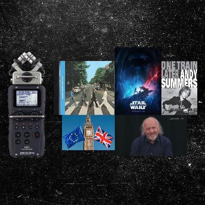 622. General Ramble (Oct 2019) Learning English / Politics / Recording Setup / Book Recommendation / Beatles / Star Wars / Bill Bailey