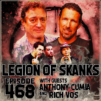 Episode 468 - Feather vs. Apple - Anthony Cumia & Rich Vos