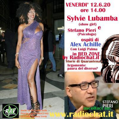 """Sylvie Lubamba e Stefano Pieri ospiti di Alex Achille in """"RED ZONE"""" By Radiochat.it"""