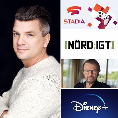 269. Den med Mats Strandberg och nyheter om Google Stadia, Disney Plus och Abba-Björn