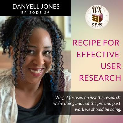 Recipe for Effective User Research
