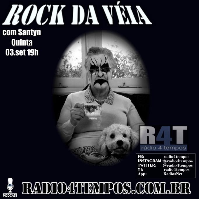 Rádio 4 Tempos - Rock da Véia 84:Rádio 4 Tempos