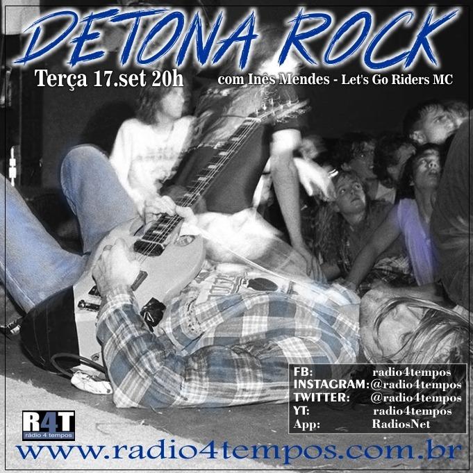 Rádio 4 Tempos - Detona Rock 24:Rádio 4 Tempos