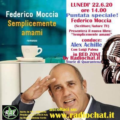 "Federico Moccia ospite di Alex Achille in ""RED ZONE"" by Radiochat.it"