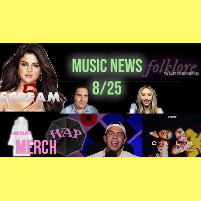 017: Cardi B's 'Waterproof' Merch, Selena Gomez Scream 5 rumors, Napster PURCHASED, 5SOS Fandom Debate Explained