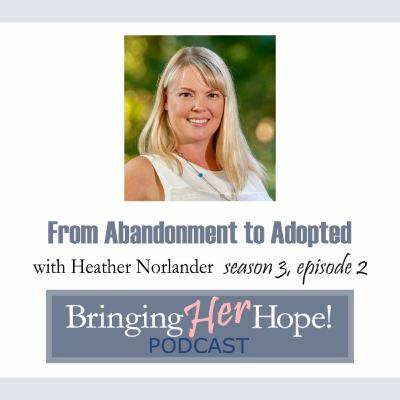 S3: Episode 2 From Abandonment to Adopted with special guest Heather Norlander