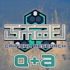 Critical Research :: Season 1 Q&A