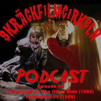 Episode 69 - Poltergeist 2 & 3 Double Bill