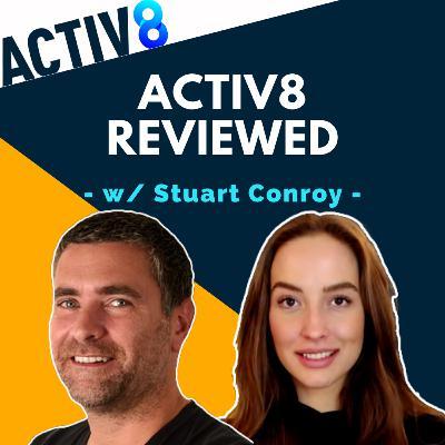 #29 - ACTIV8 Review w/ Stuart Conroy   Full Service Amazon Marketing Agency