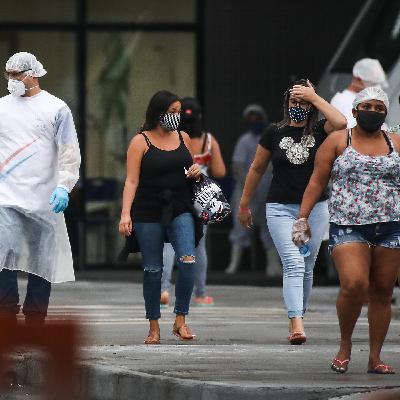 Covid contaminou mais de 1 milhão no Brasil, SP volta atrás na flexibilização e MG pode ter lockdown