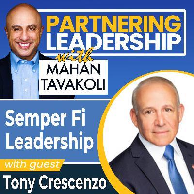 Semper Fi leadership with Intelligent Waves President  Tony Crescenzo| Greater Washington DC DMV Changemaker