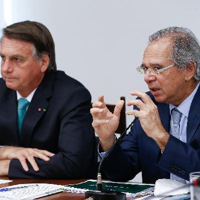 Guedes diz que 'barulho político' pode atrapalhar economia; e Bolsonaro afirma que não pode ir para 'tudo ou nada'