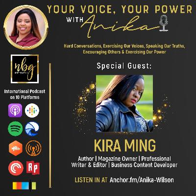 Author and Professional Content Strategist- Kira Ming