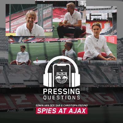 Edwin van der Sar and Christoph Freund – Spies at Ajax