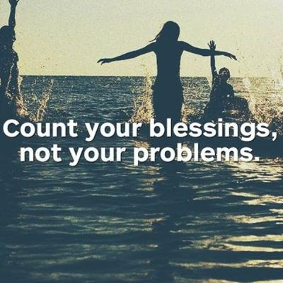 The right Blessings to count.