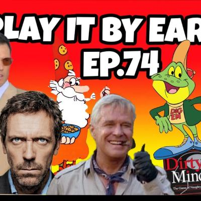 Episode 74: TV Character Dinner Party; Cereal Championship; Dirty Minds game