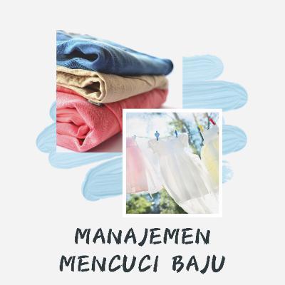 Manajemen Mencuci Baju
