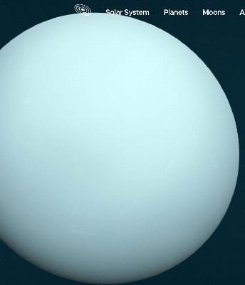 The Known Unknowns of the ice giants Uranus and Neptune: 1 of 2: Uranus sideways. Ken Croswell @SkyandTelescope