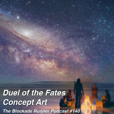 Duel of the Fates Concept Art - The Blockade Runner Podcast #140
