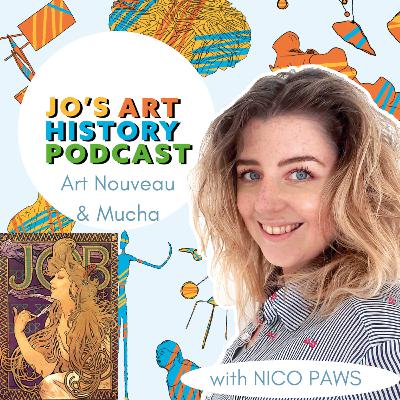 19. Art Nouveau & Alphonse Mucha with Nico Paws