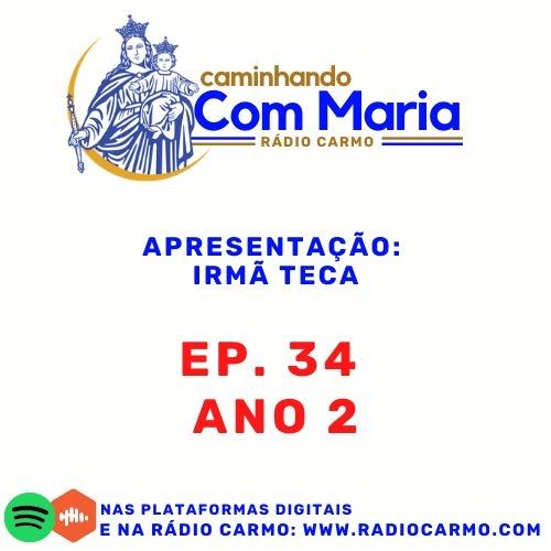 Rádio Carmo   Caminhando com Maria #34 - Vocação   Jovens Comunicadores Araras/SP - Irmã Teca