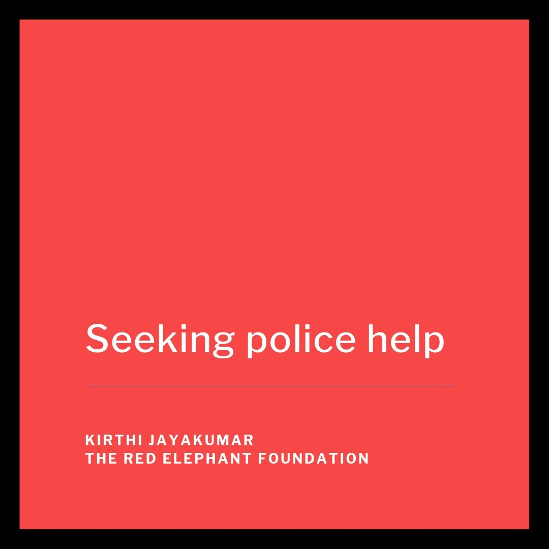 Episode 20 - Seeking Police Help