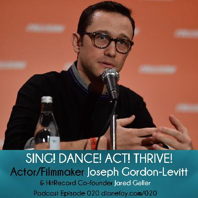 Actor Joseph Gordon-Levitt on HITRECORD & Creative Collaboration