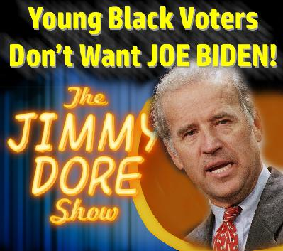 Young Black Voters Don't Want JOE BIDEN!