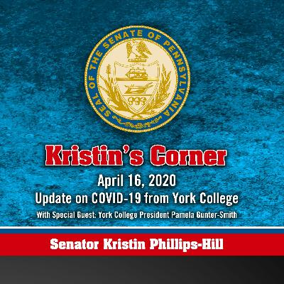 04.16.20 Update on COVID-19 with York College President Dr. Pamela Gunter-Smith