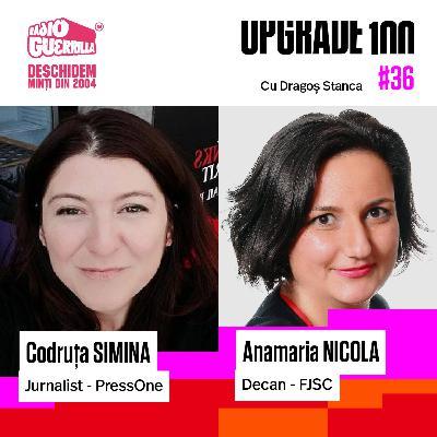 #36 MANIPULAREA ONLINE ÎN CAMPANIA ELECTORALĂ | Cum să ne ferim de fake news? Anamaria Nicola - decan Facultatea de Jurnalism și Științele Comunicării și Codruța Simina - jurnalist PressOne