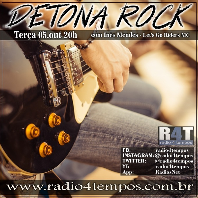 Rádio 4 Tempos - Detona Rock 27:Rádio 4 Tempos