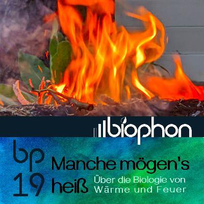 bp19: Manche mögen's heiß - Die Biologie von Wärme und Feuer