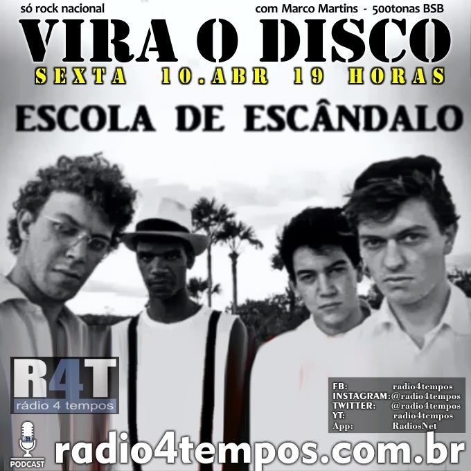 Rádio 4 Tempos - Vira o Disco 59:Rádio 4 Tempos