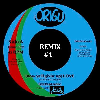 Stetsasonic - Now Ya'll Givin Up (Love) - AC The PD remix #1