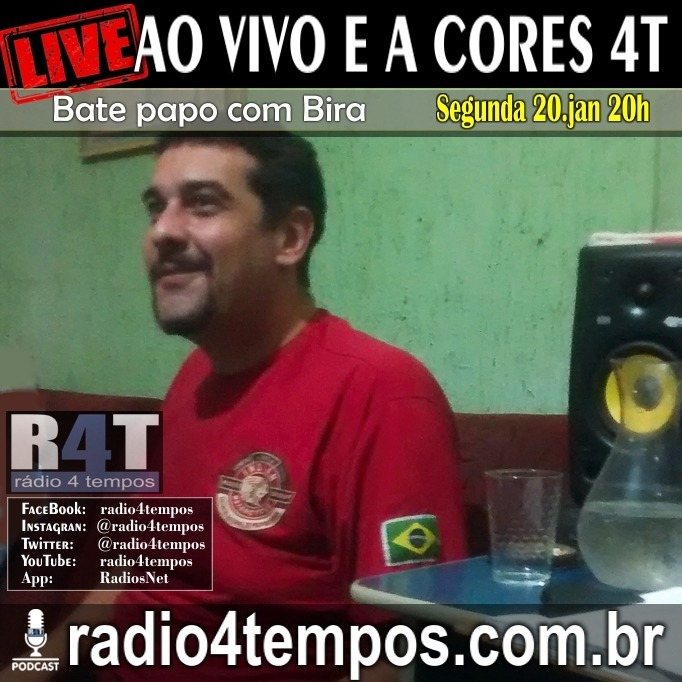 Rádio 4 Tempos - Ao Vivo E a Cores 68:Rádio 4 Tempos