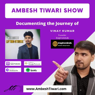 How to deal with rejections in your career? on Ambesh Tiwari Show