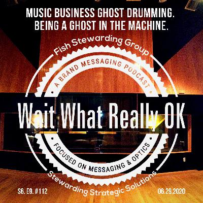 Music Business ghost drumming. Being a ghost in the machine.