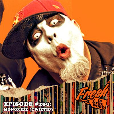 Episode #200: Monoxide from the Detroit Horrorcore Duo Known as Twiztid, Astronomicon Pop Culture Convention February 7th-9th in Sterling Heights, MI