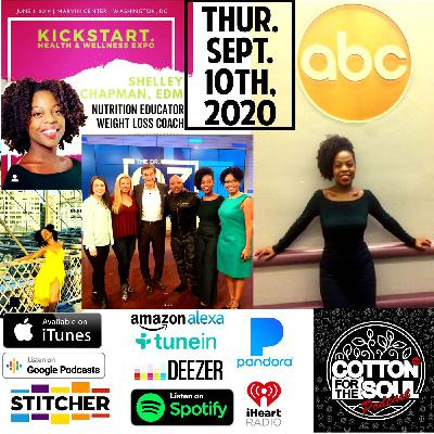 Shelly Chapman, MS. Ed   Food Can Kill Your Purpose... LITERALLY!. Part 2   Season Two   FOOD/TRAVEL/PURPOSE  