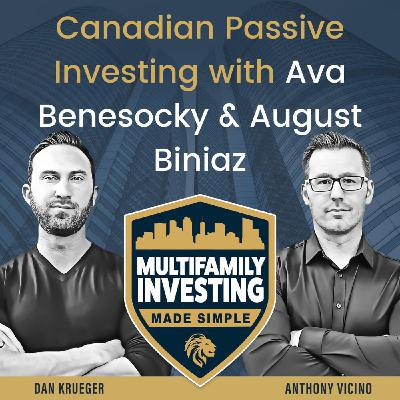 Canadian Passive Investing with Ava Benesocky and August Biniaz
