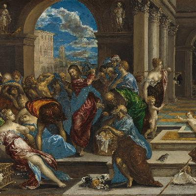 Jesus Cleanses the Temple - The Congregation at Prayer for August 11, 2020