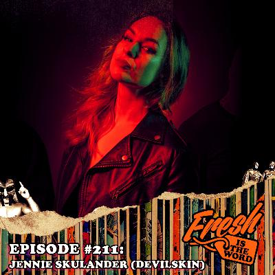 Episode #211: Jennie Skulander – Lead Vocalist of the New Zealand Metal Band 'Devilskin', New Album RED Available Now