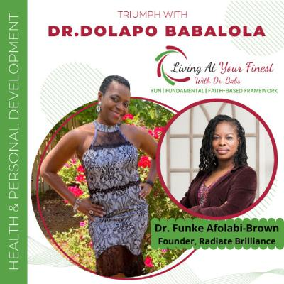 Sleep Contributes to Your Overall Wellness with Dr. Funke Afolabi-Brown