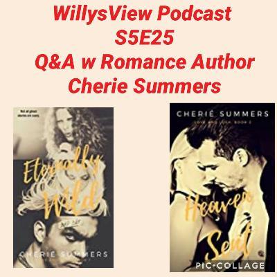 🎤📚S5E25: Q&A w Romance Author Cherie Summers