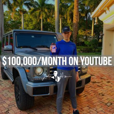 Ep 25. How To Earn $100,000/M On YouTube w Chase Namic