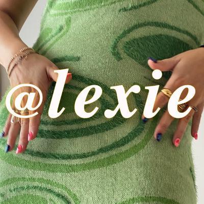 hi, I'm @lexie