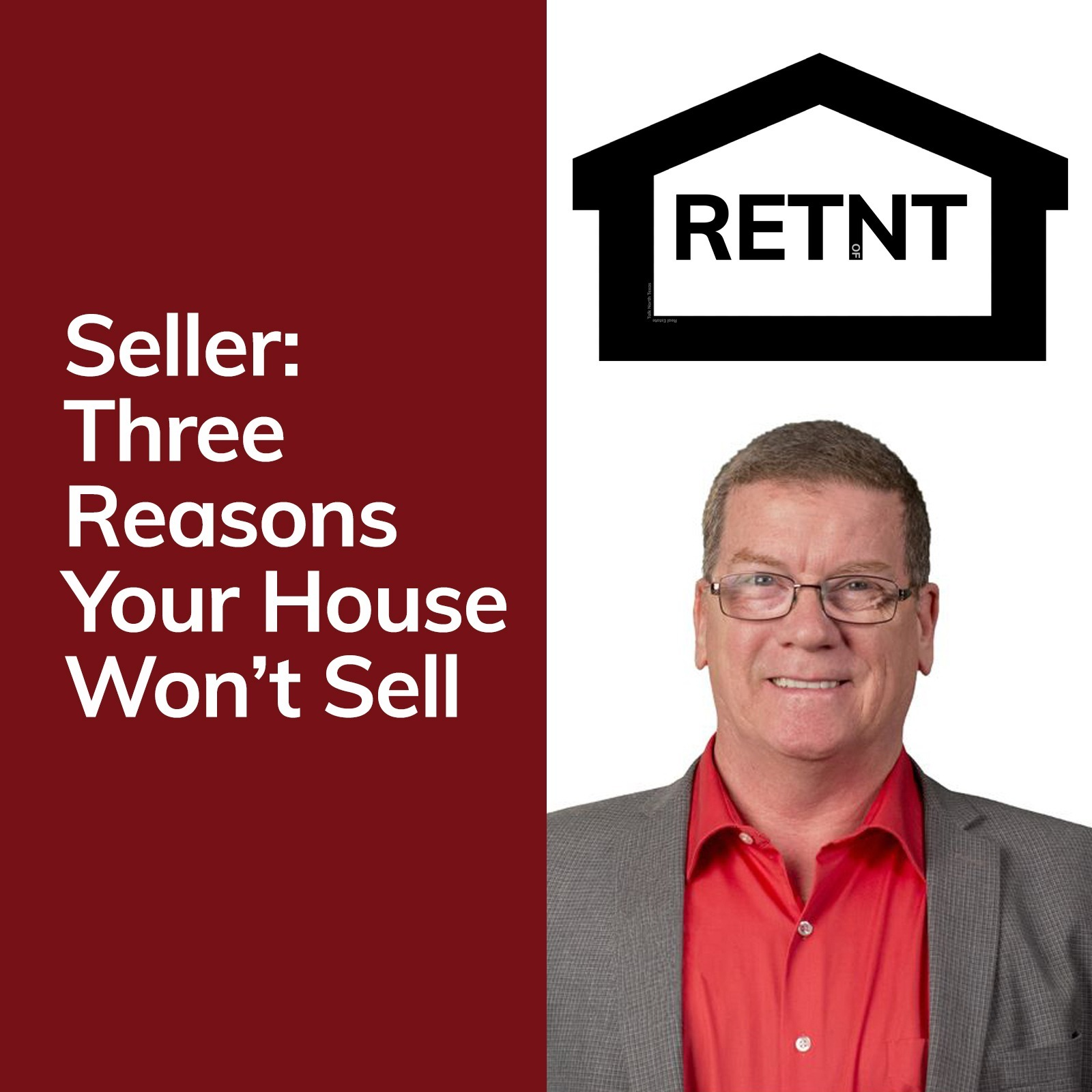 Three Reasons Your House Won't Sell