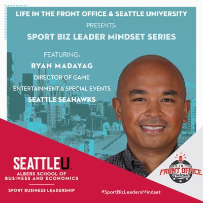 The Gameday Fan Experience Ryan Madayag, Seattle Seahawks