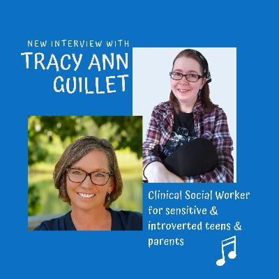 Chat with Tracy Ann Guillet   Helping introverted & sensitive people feel seen and heard